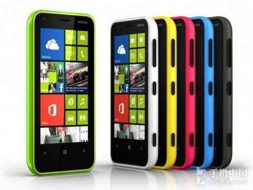 千元级双核芯WP8 诺基亚Lumia 620发布