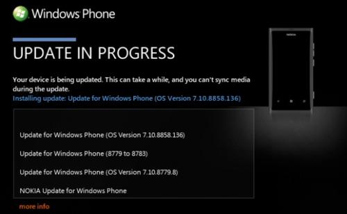 终于等到 诺基亚Lumia 800迎来WP7.8升级