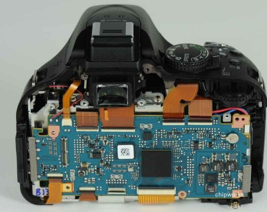 Chipworks证实尼康D5200传感器由东芝制造