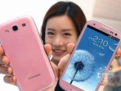 1.4GHz四核机 粉色版Galaxy SIII到货