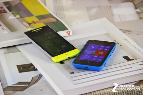 2K档入门WP8决战 诺基亚620对比HTC 8S
