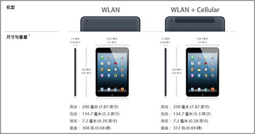 电信iPad mini 3G 导航