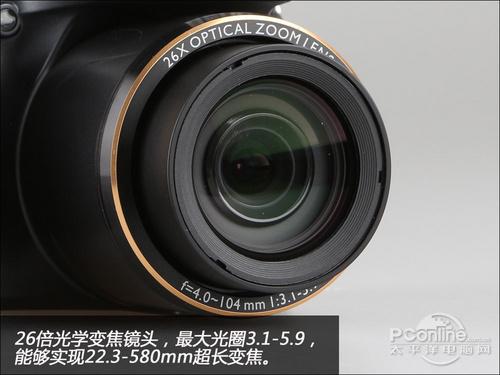 26倍光变超级长焦相机明基GH750评测(2)