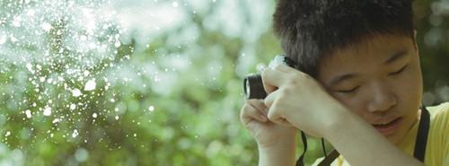 用耳朵按下快门台湾少年盲人摄影师开展览