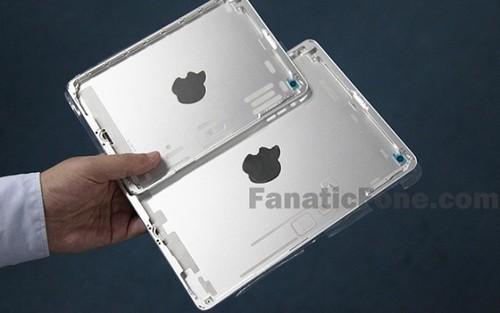改用嵌入式LOGO 新iPad mini后壳曝光