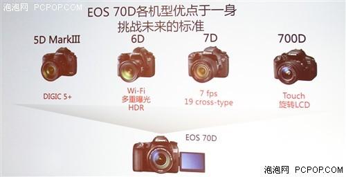 集合最强功能中端非全幅佳能70D评测