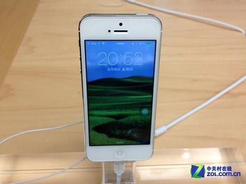 无预约不能买 iPhone 5s/5c首销前夜访