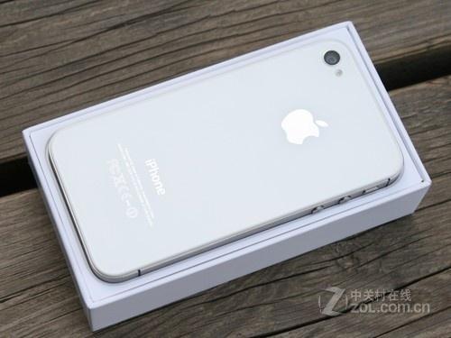 时尚经典白色苹果iphone 4s 8g港版2999