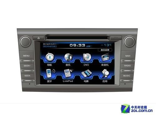 路畅13款丰田RAV4上市DVD控制车载在售_数图纸灯导航隔图片