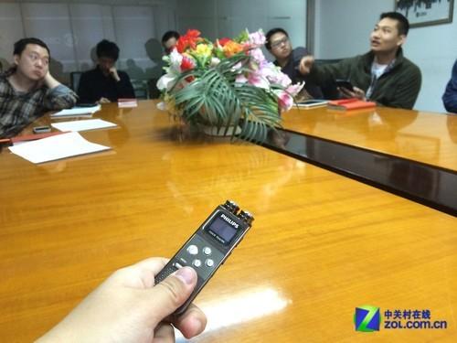 超大双麦克风飞利浦VTR6900录音笔评测
