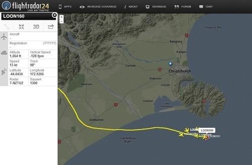 Flightradar24可实时追踪Google气球轨迹