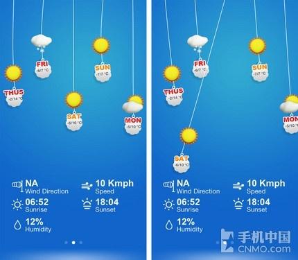 Q-Weather天气预报-又是春游好时节 踏青出行必备软件合集