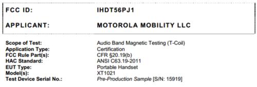 XT系列再出击 传Moto将推三款超薄手机