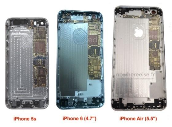 """5.5英寸版命名""""iPhone6 Air"""" 后盖曝光"""