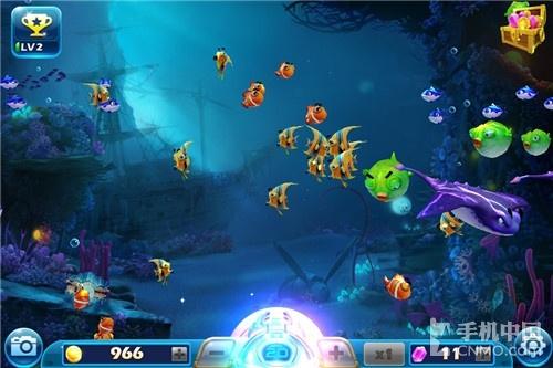 3D效果萌鱼强势回归 《捕鱼达人3》评测