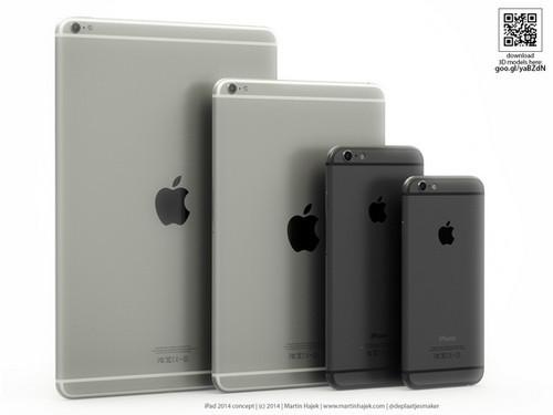 摄像头突出 苹果iPad Air 2概念图曝光