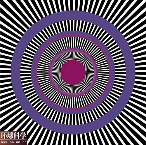 科技时代_欺骗眼睛的幻觉图形:英格玛错觉