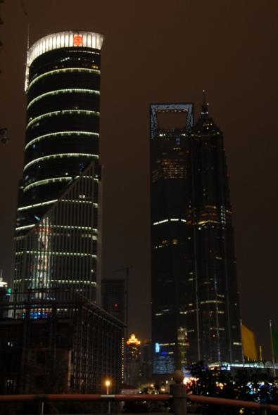 科技时代_组图:2009上海金茂大厦熄灯一小时