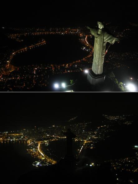 科技时代_图文:2009巴西里约热内卢熄灯一小时