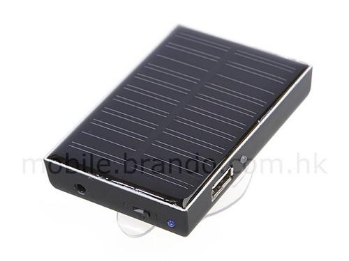 与MP3配套用低价太阳能充电器仅25美元
