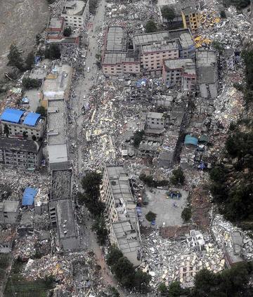 5.12四川汶川大地震---灾侯呼城市篇