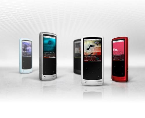 国外主流产品近期多款韩国品牌MP3图赏