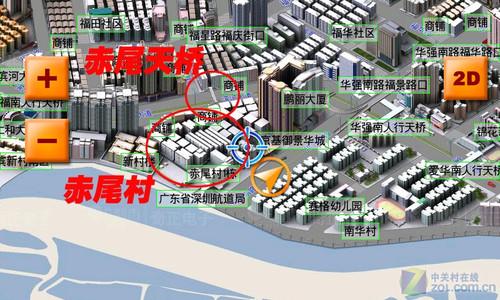三维gps导航 优路特地图四大优势分析