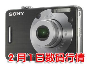 科技时代_1日数码行情:700万像素轻薄相机大降300