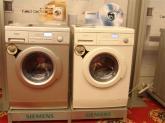 西门子洗衣机现场演示