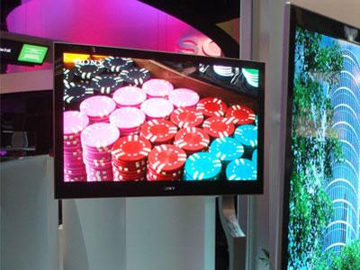 科技时代_2008CES:索尼最新27英寸OLED电视亮相