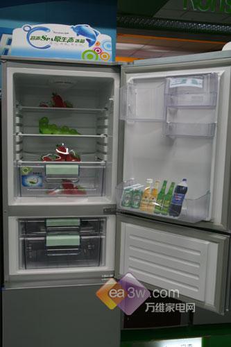 仅3000出头容声212升冰箱卖场促销