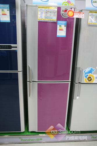 亮丽外观设计容声210升冰箱热销中