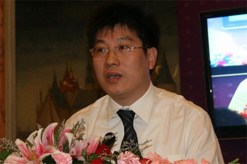 图文:青岛海信电器股份有限公司副总经理王云利