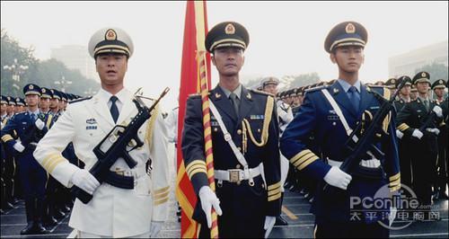 华录出版建国60周年阅兵式蓝光碟面世_家电_