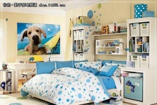 36款宜家风格卧室装修效果图26