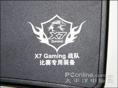 双飞燕X7Gaming战队装备鼠标垫X7-800MP评测