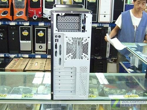 全铁网面板航嘉凯撒2机箱带电源380元