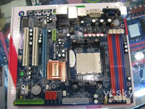 MCP68S老当益壮顶星T-N68GM主板450元