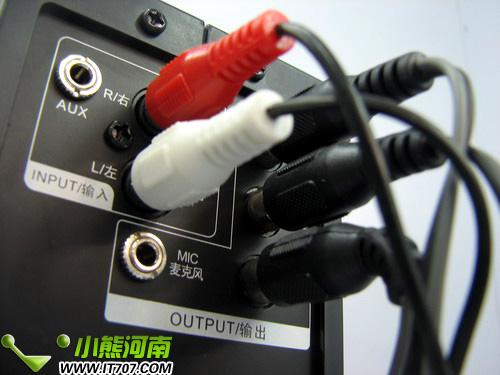 音响连线接法图解