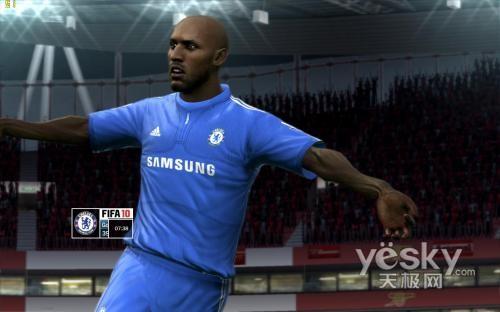 传说中最强的足球游戏《FIFA10》试玩_硬件