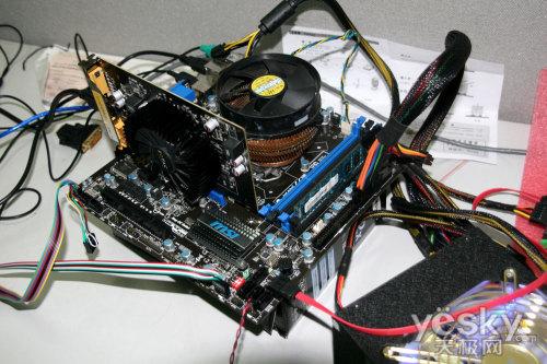 电脑主板电源接线图