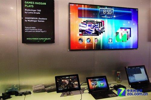 CES2012:NV核心Win8平板更多细节曝光