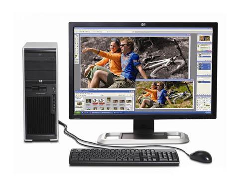 科技时代_助力中小型用户 惠普xw4550工作站评测