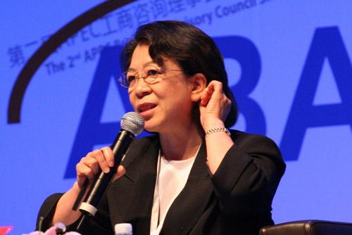 中国工商银行副行长王丽丽