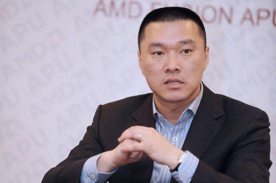 图为:微软大中华区开发工具及平台事业部总经理谢恩伟