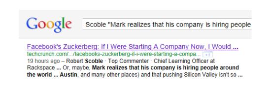 谷歌爬虫机器人直接用常规的搜索功能查询这些评论