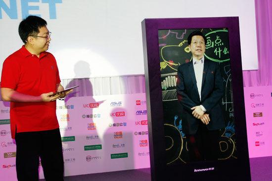 创新工场李开复 (新浪科技 韩连巍/摄)