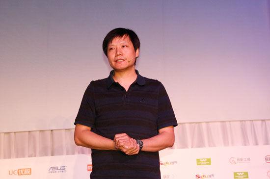 小米科技CEO雷军 (新浪科技 韩连巍/摄)