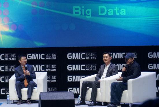 图文 对话腾讯CEO马化腾和李连杰
