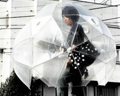 14款最具创意雨伞:风暴伞可抵御10级强风